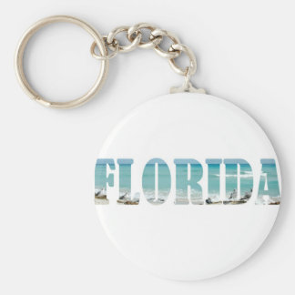 Florida Beach Key Ring