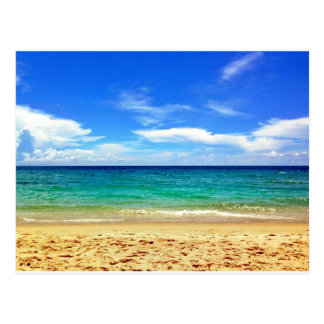 Florida Beach Postcard