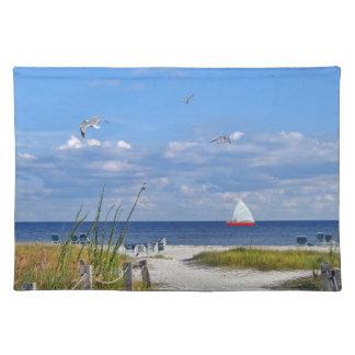 Florida Beach Scene Placemat