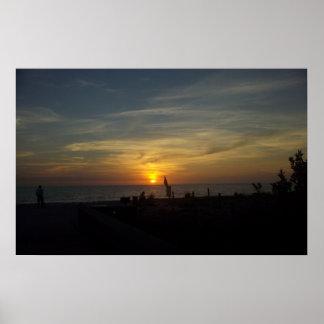 Florida Beach Sunset Posters
