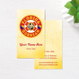 Florida Bosnian American Business Cards