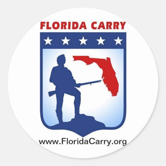 Florida Carry Sticker