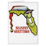 Florida Christmas Greeting Card