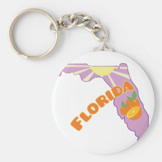 Florida Citrus Key Ring