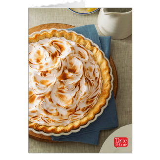 Florida Citrus Meringue Pie Card