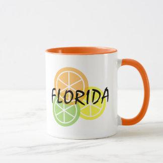 Florida Citrus - Orange Lime Lemon Coffee Mug