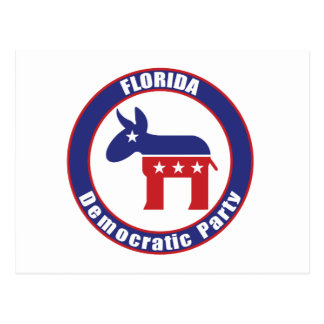 Florida Democratic Party Postcard