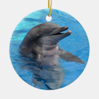 Florida Dolphin Christmas Ornament