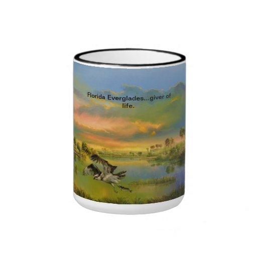 Florida Everglades...giver of life. Ringer Coffee Mug