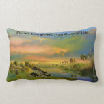 Florida Everglades..The Giver of Life. Pillow