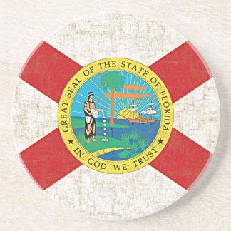 FLORIDA FLAG AGED Coaster