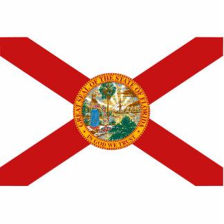 Florida Flag Keychain Cut Out