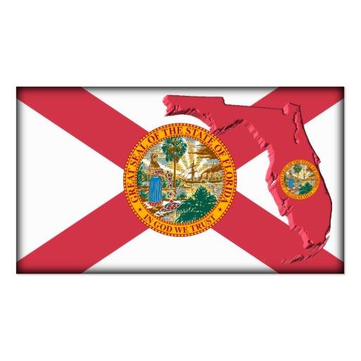 Florida Business Card  Zazzle