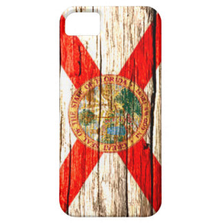 Florida Flag old wood iPhone 5 Cover