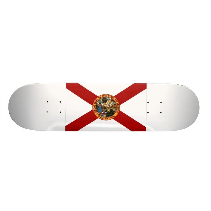 Florida Flag Skateboard Deck
