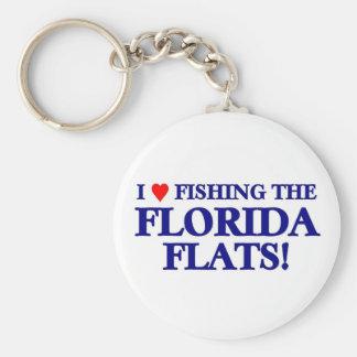 Florida Flats Keychain