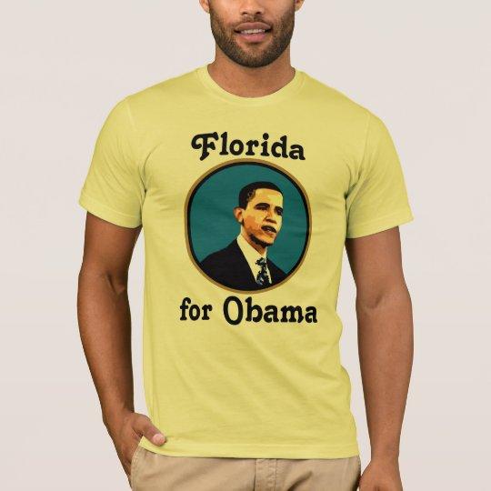 Florida for Barack Obama T-Shirt