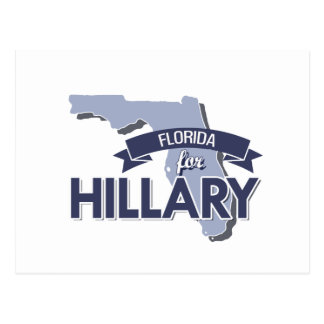 FLORIDA FOR HILLARY -.png Post Cards