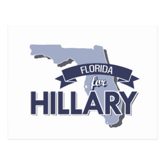 FLORIDA FOR HILLARY -.png Postcard