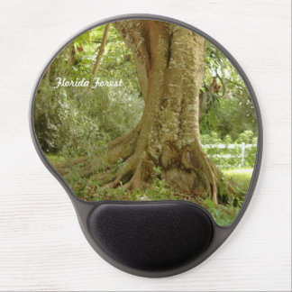 Florida forest tree roots plants Gel Mousepad