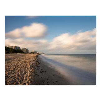 Florida - Fort Lauderdale beach postcard