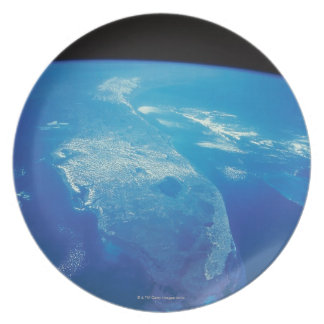 Florida from Space 2 Plate
