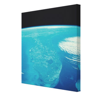 Florida from Space Stretched Canvas Prints