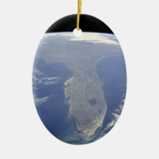Florida from Space Ornament