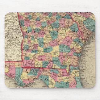 Florida, Georgia, and South Carolina 2 Mouse Pad