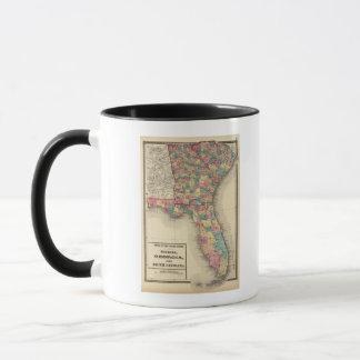 Florida, Georgia, and South Carolina 2 Mug