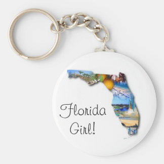 florida girl key ring