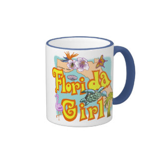 Florida Girl Coffee Mugs