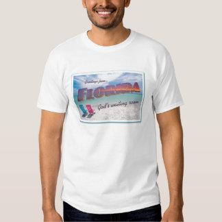 Florida God's Waiting Room t-shirt