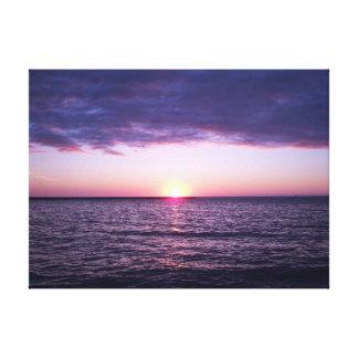 Florida Gulf sunset Canvas Print