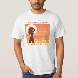 Florida Gulf Vacation, Beach... T-Shirt