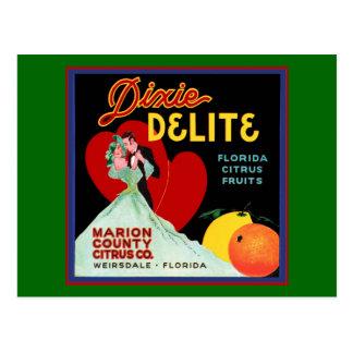 Florida Heart Postcard