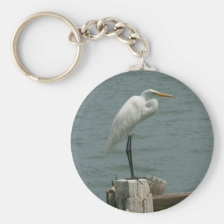 Florida Heron Keychains