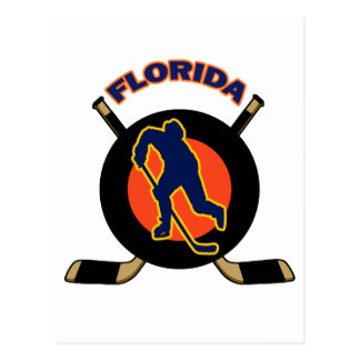 FLORIDA HOCKEY POSTCARD