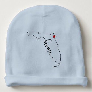 Florida Home Jacksonville Baby Beanie Hat