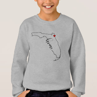 Florida Home Jacksonville Kid's Sweatshirt