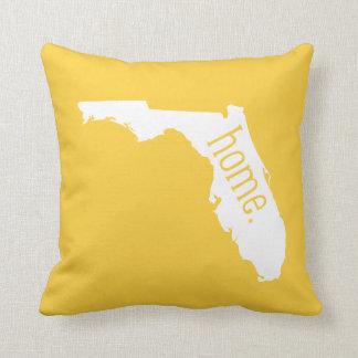 Florida Home State Throw Pillow