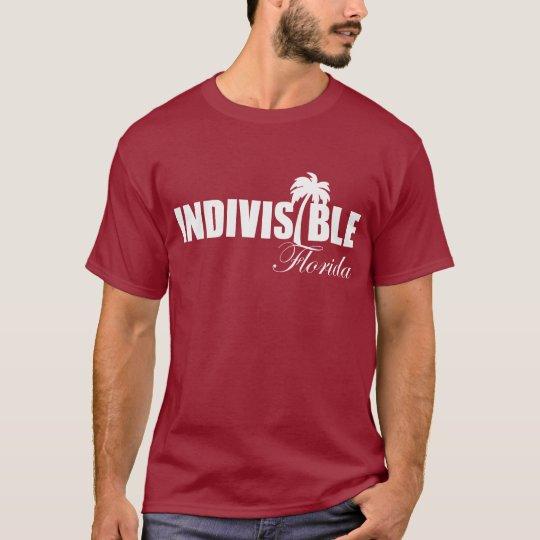 FLORIDA Indivisible men's t-shirt wht logo