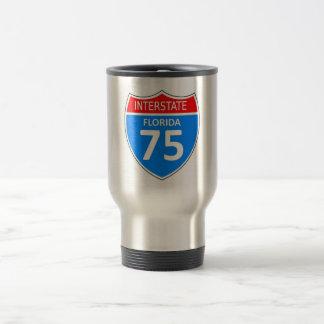 Florida Interstate 75 Stainless Steel Travel Mug