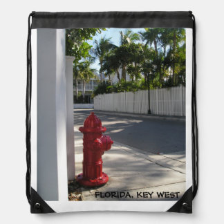 Florida Key West Drawstring Bag