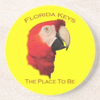 Florida Keys Beverage Coaster