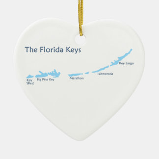 Florida Keys. Christmas Ornament