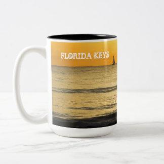 Florida Keys cup Two-Tone Mug