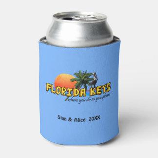Florida Keys (customizable) Can Cooler