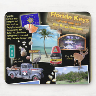 Florida Keys Mouse Mat