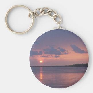 Florida Keys Sunset Key Ring